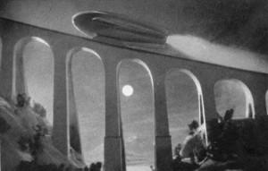 Weltraumschiff 1 startet