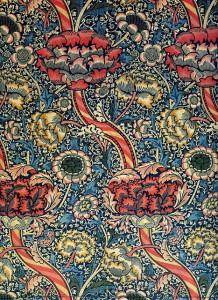 Ein Tapeten-Design von Morris.