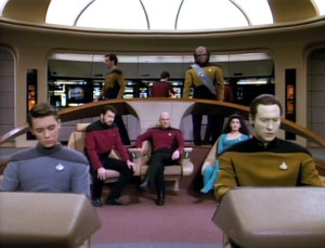 Die Brücke der Enterprise.
