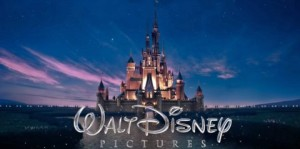 Das traditionelle Disney-Logo …