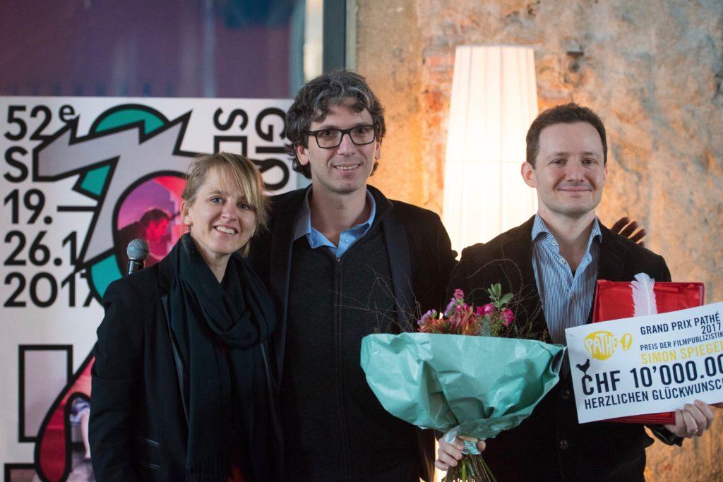 Seraina Rohrer, Loic Trocme und meine Wenigkeit.